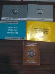 Manual do Proprietário Fiat, Palio, Siena, Strada , 2004 a 2007