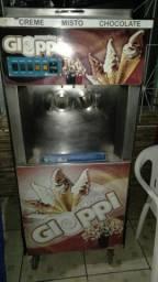 Maquina de sorvete con balcao