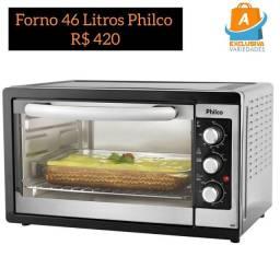 Forno Elétrico 46 Litros Philco + Entrega Grátis