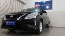 Nissan Versa SV 1.6 16V FlexStart Completo Automático Preta 2018/2019