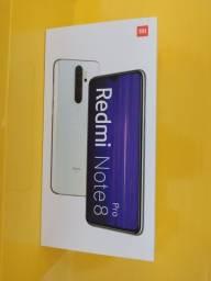 Redmi note 8 pro, 6gb 128gb branco. NOVO