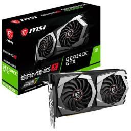Placa de Vídeo MSI Nvidia GeForce GTX 1650 Gaming X 4G,