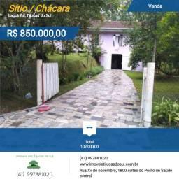 Chácara com boa área e muitas benfeitorias em Tijucas do Sul-PR