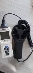 Termoanemômetro Digital com sensor externo AK835