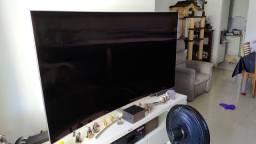 "TV Samsung QLED 75"" Tela Curva (quebrada)"