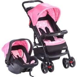 Bebê conforto e carrinho cosco