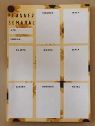 Planner Semanal Girassol