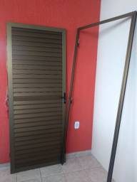 Porta de alumínio bronze