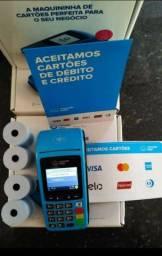 Maquina de cartão pró imprimir papel chip e wi-fi