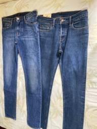 Duas calça original TAM 36 leia