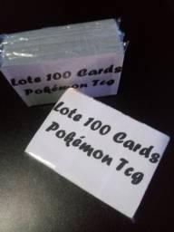 Lote 100 Cards + GX Aleatórios Pokémon Tcg Copag (Sem Repetições) Ultimos Lote