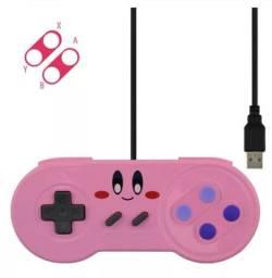 Título do anúncio: Controle estilo SNES Super Famicom USB PC Raspberry Pi