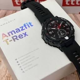 Título do anúncio: Smartwatch Amazfit T-Rex Lacrado