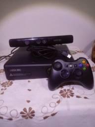 Título do anúncio: Console Xbox 360 + kinect!