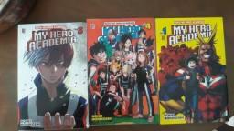 My Hero Academia Volumes 1 4 e 5