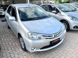 Etios Sedan XS 1.5 2013 (GNV) | Ac trocas e financiamos