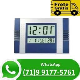 Relógio de Mesa Parede Digital Temperatura Alarme Calendário L7 (NOVO)