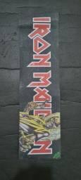 Título do anúncio: Lixa Skate Street MOB Iron Maiden Rara