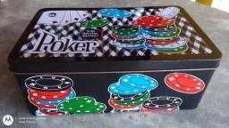 Jogo de Poker com 200 fichas