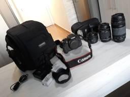 IMPERDÍVEL - Vendo kit fotógrafo - Câmera profissional