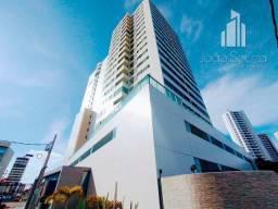 JS- Lindo apartamento 3 Suítes na beira mar de Olinda com 95m² - Estação Marcos Freire