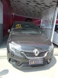 Título do anúncio: Renault Logan Life 2020 completo Entrada+Parcelas de 999,00 ao mês*