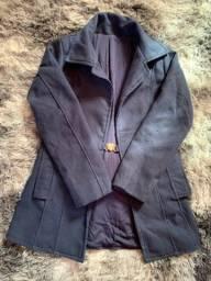 Título do anúncio: Casaco lã batida