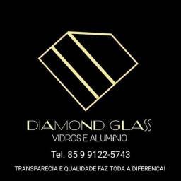 Vidraçaria e alumínio diamond glass em Fortaleza