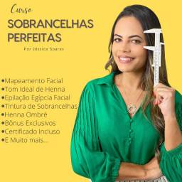 Curso de Sobrancelhas Perfeitas - por Jéssica Soares