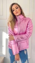 Título do anúncio: Jaquetas Puffer metalizadas