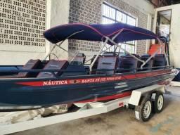 Lancha Santa Fé . A melhor na categoria . Produto novo . Pronta entrega. canoa barco.
