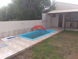 TH@*(Cód. SP2026)  Linda Casa de 2 Quartos Com Piscina