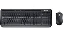 Kit Teclado E Mouse Usb 600 Microsoft - Apb-0005
