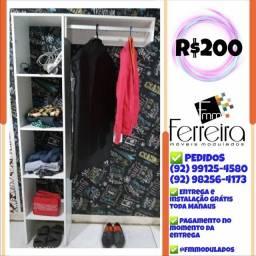 Título do anúncio: 97. Closet 1.0 Entrega e Instalação Grátis Toda Manaus ###