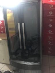 Título do anúncio: Vendo máquina assar frango/costela giratória grande (progas )