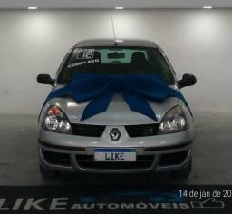 Renault Clio Hi-Flex 1.0 Completo 2012/2012 Parcelamos sua entrada no cartão