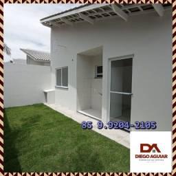 Título do anúncio: Varanda VIP na Suíte do Casal - Casas No Eusébio :/°