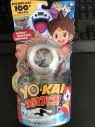 Título do anúncio: Relógio yo-kai Watch original hasbro branco séries 1 com 02 medalhas