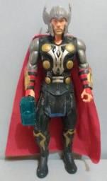 Boneco Thor Eletrônico - Lança Martelo