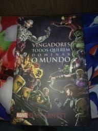 Título do anúncio: Vendo 2 livros marvel