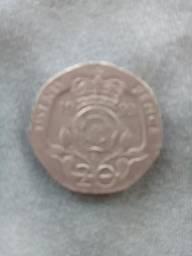 Moeda da Inglaterra de 1993
