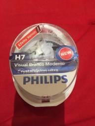 Lâmpadas original Philips cristal vision efeito xênon ACEITO CARTÃO