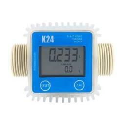 Medidor vazão volume digital para ARLA 32 diesel, gasolina, querosene, água