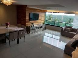 Apartamento 4 suítes, 155m², 3 vagas, no Parque Tropical. PORTEIRA FECHADA !