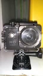 Câmera underwater sport câmera a prova d'água
