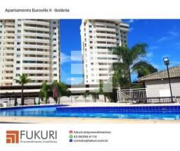 Oportunidade! Belíssimo apartamento 3Q no Euroville II -Chácaras Alto da Gloria - Goiânia