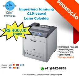 Impressora Samsung Laser Colorida 775 ND