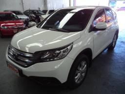 Crv Lx 2.0 16v 2wd Automatica 2012 Branca Completa Couro Veja - 2012