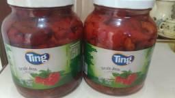 Tomates secos,vidros com 1 k e meio