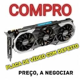 Placa de Vídeo com defeito
